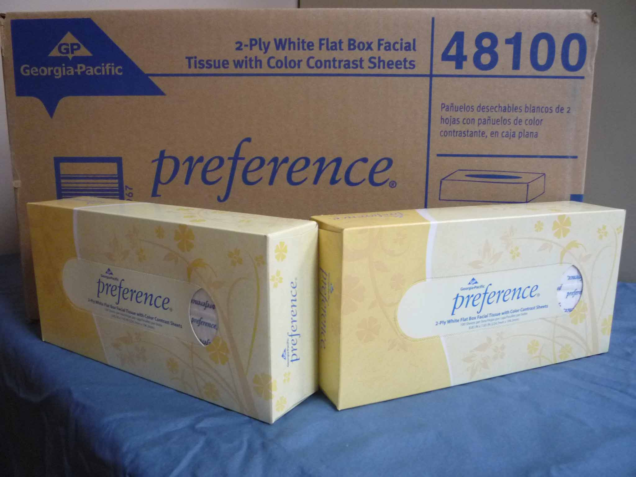 Preference Faical Tissue White