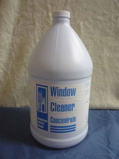 Glass Cleaner Concentrate Gallons