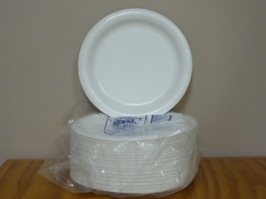 "9"" Coated Plate H.D. 125 Pkg"