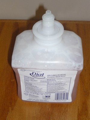 Antimicrobial Foaming Hand Soap Dial Complete ea
