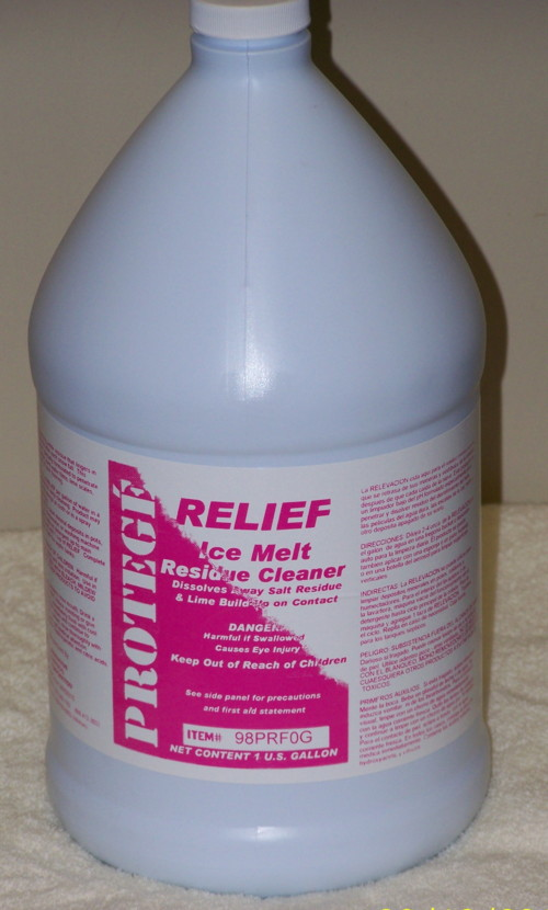 Relief Ice Melt Residue Cleaner